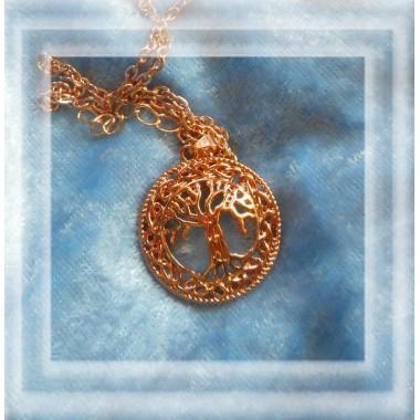 Geschenk Halskette Lebensbaum
