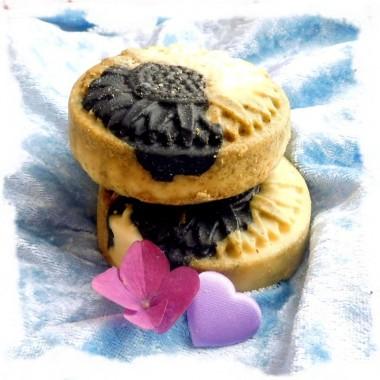 Black Beauty Seife mit Meersalz, Rosmarin & Kohle für Problemhaut